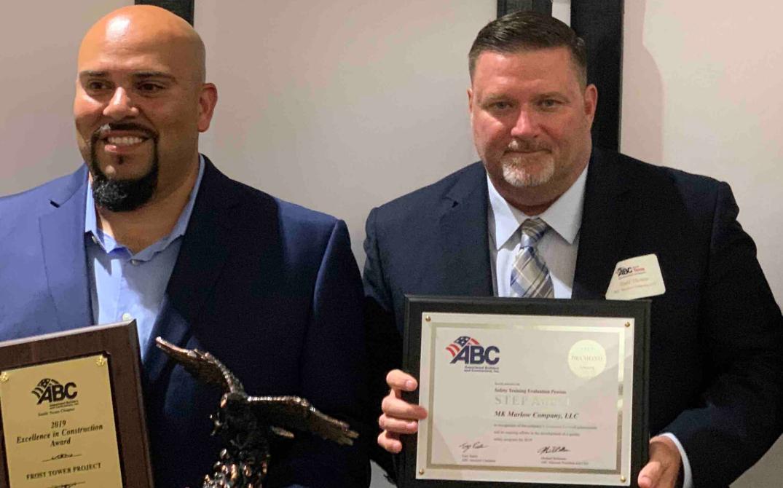 MK Marlow Company Earns Eagle Award