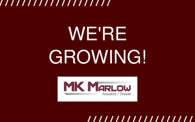 MK Marlow is Growing!