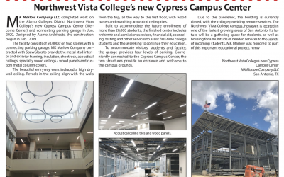 Project Showcase Feature in Construction News